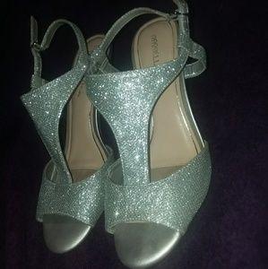 Stunning Silver Heels